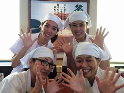 丸亀製麺 五個荘店のアルバイト情報