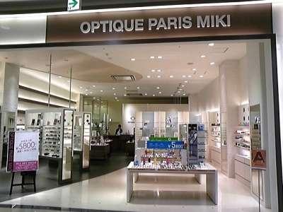 OPTIQUE PARIS MIKI ビバモール寝屋川店のアルバイト情報