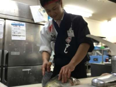 魚魚丸 ホール★週2日、1日3H〜OK★プライベートと両立可 魚魚丸 豊田十塚店