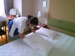 谷町四丁目平日のみ週4日から勤務OKのビジネスホテル客室整備です。のアルバイト