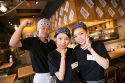 かき小屋○座 横浜西口店のアルバイト情報