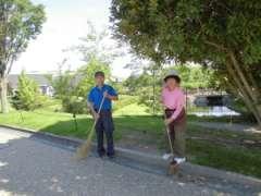 堀内公園主婦(夫)活躍中!季節の花々が楽しめる公園施設内清掃☆のアルバイト