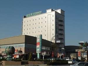 ≪*好立地*≫佐久平駅前から徒歩数分の健康ランド併設のビジネスホテル♪
