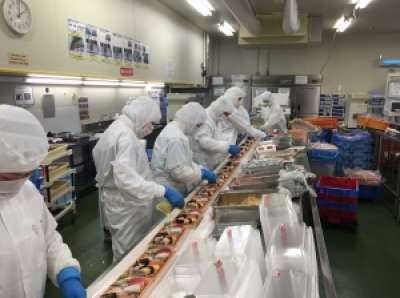 ジャパンフレッシュ尼崎工場(寿司)のアルバイト情報
