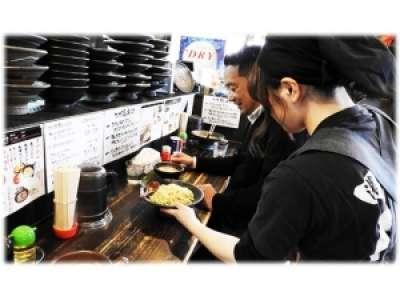 鶏白湯専門店 つけ麺まるや ラパーク店のアルバイト情報