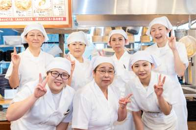 丸亀製麺 イオンモール札幌苗穂店の求人画像